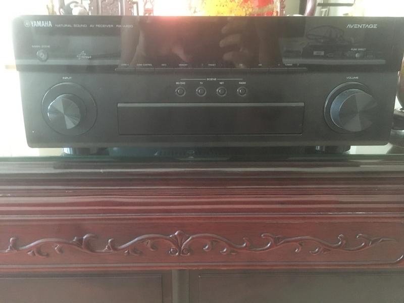 Dali Zensor Speaker set and Yamaha Amp Img_2712