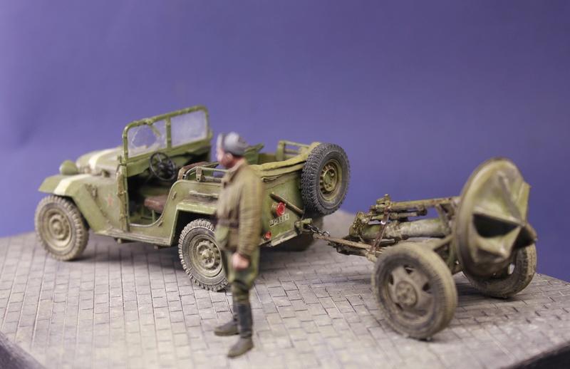ГАЗ-67Б + 120-мм миномет в прицепе, 1/35  ГОТОВО! - Страница 3 _mg_6330