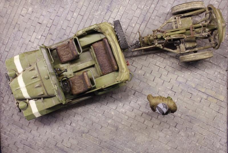 ГАЗ-67Б + 120-мм миномет в прицепе, 1/35  ГОТОВО! - Страница 3 _mg_6331