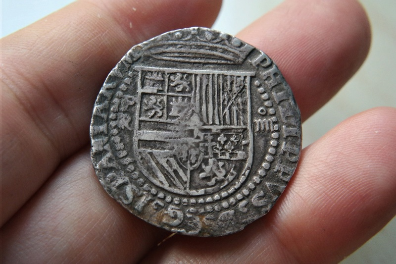 4 Reales Potosi o Lima - 1574-1576 - Alonso Rincon Sam_1718