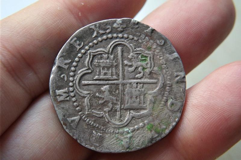 4 Reales Potosi o Lima - 1574-1576 - Alonso Rincon Sam_1719
