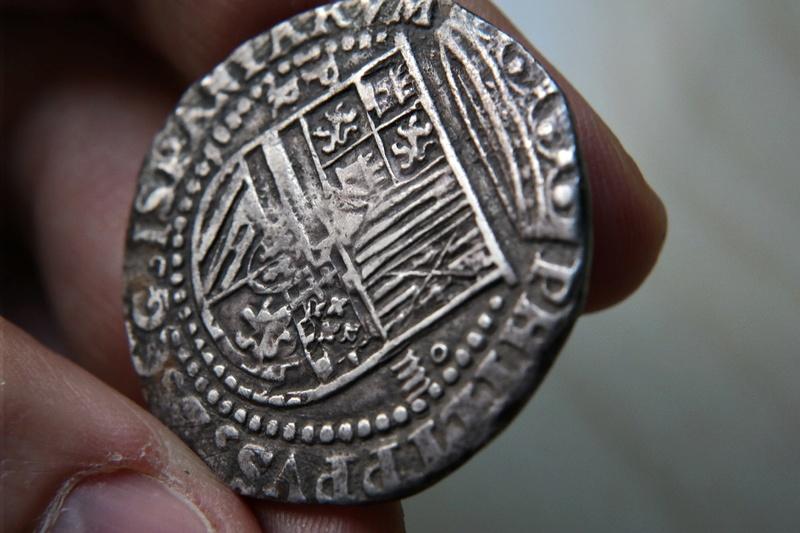 4 Reales Potosi o Lima - 1574-1576 - Alonso Rincon Sam_1720