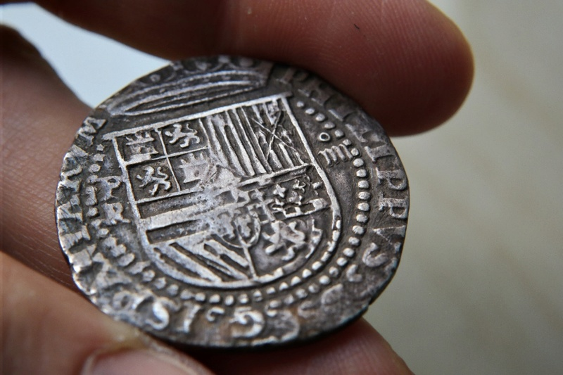 4 Reales Potosi o Lima - 1574-1576 - Alonso Rincon Sam_1724