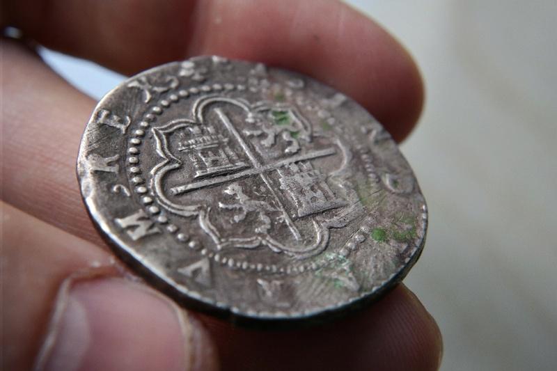 4 Reales Potosi o Lima - 1574-1576 - Alonso Rincon Sam_1725