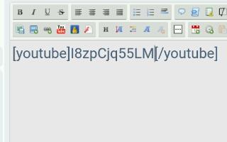 """Tutorial:- Poniendo un vídeo de """"You Tube"""" en el foro Screen27"""