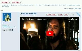 """Tutorial:- Poniendo un vídeo de """"You Tube"""" en el foro Screen31"""