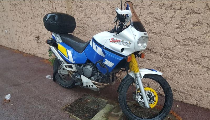 vends 750 xtz Moto10