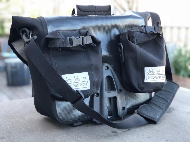 (Je vends) Brompton O Bag (sacoche frontale étanche) Img_6311