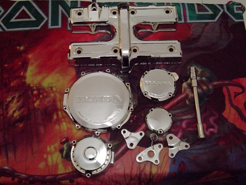 Restauração CBX 750F 1988 - Magia Negra. 14021611