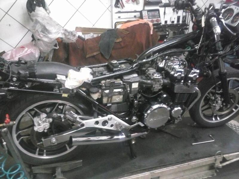 Restauração CBX 750F 1988 - Magia Negra. Restau10