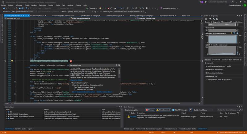 Software Zator 2018 Community Edition [AIDE RECHERCHÉE !] Screen11