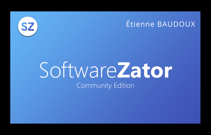 Software Zator 2018 Community Edition [AIDE RECHERCHÉE !] Splash10