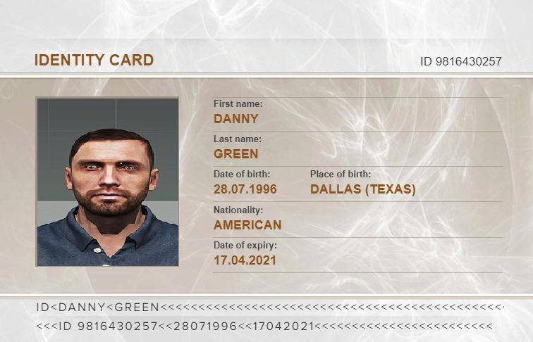 [Candidature] Gendarmerie Danny Green Carte_10