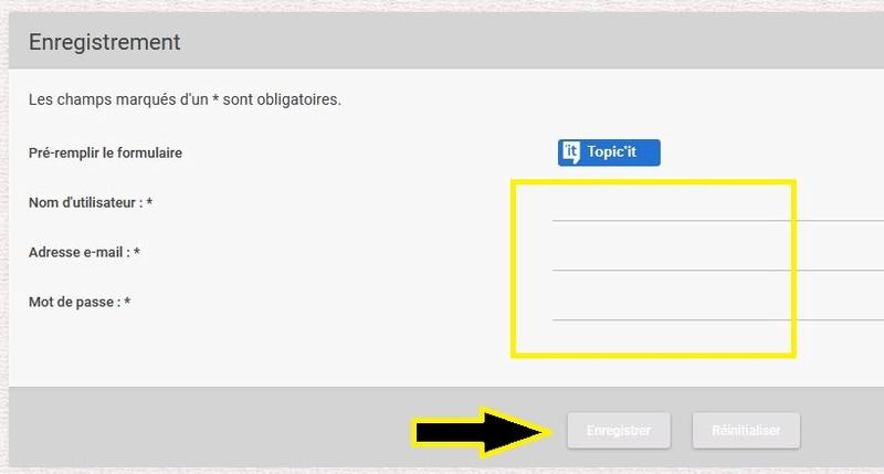 Tutoriel : Créer un compte sur le forum et créer un sujet 3_form10