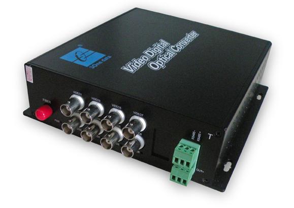 Bộ thu phát 8 kênh Video sang quang SWV60800 4d636510