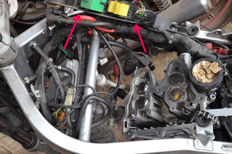 F650 Scarver joints pompe à eau et culasse Bmw_f611