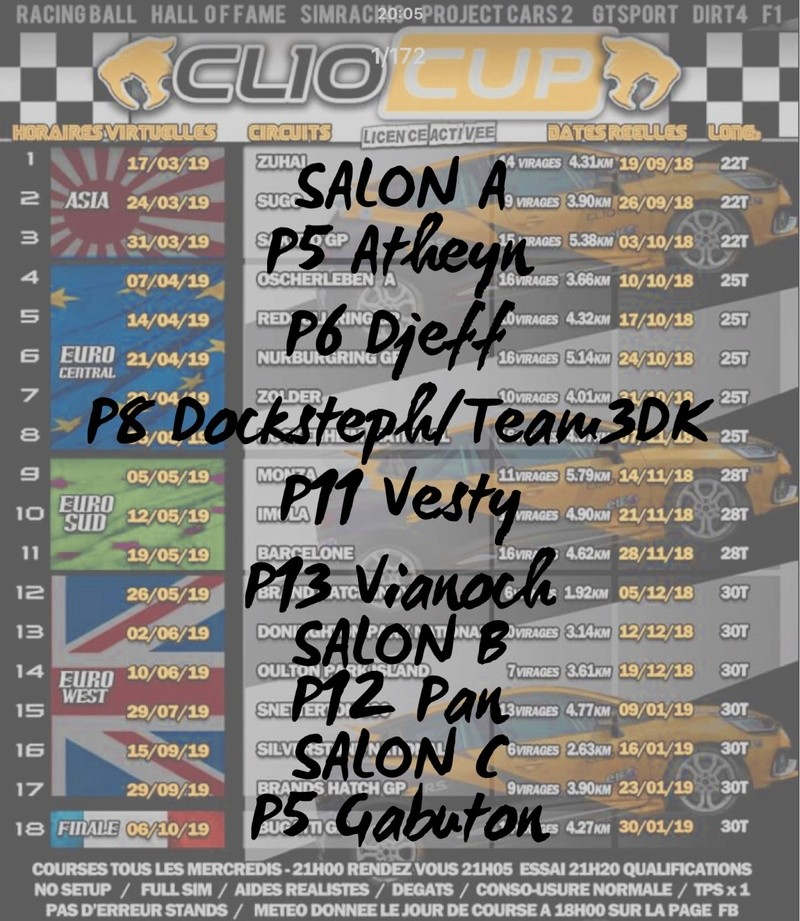 CLIO CUP 2018 by Racing Ball 49bc2210