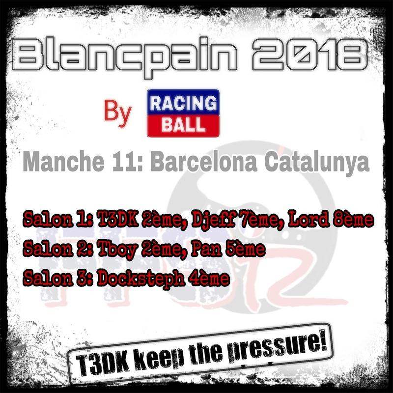 "Blancpain 2018 by ""Racing ball"" B3395110"