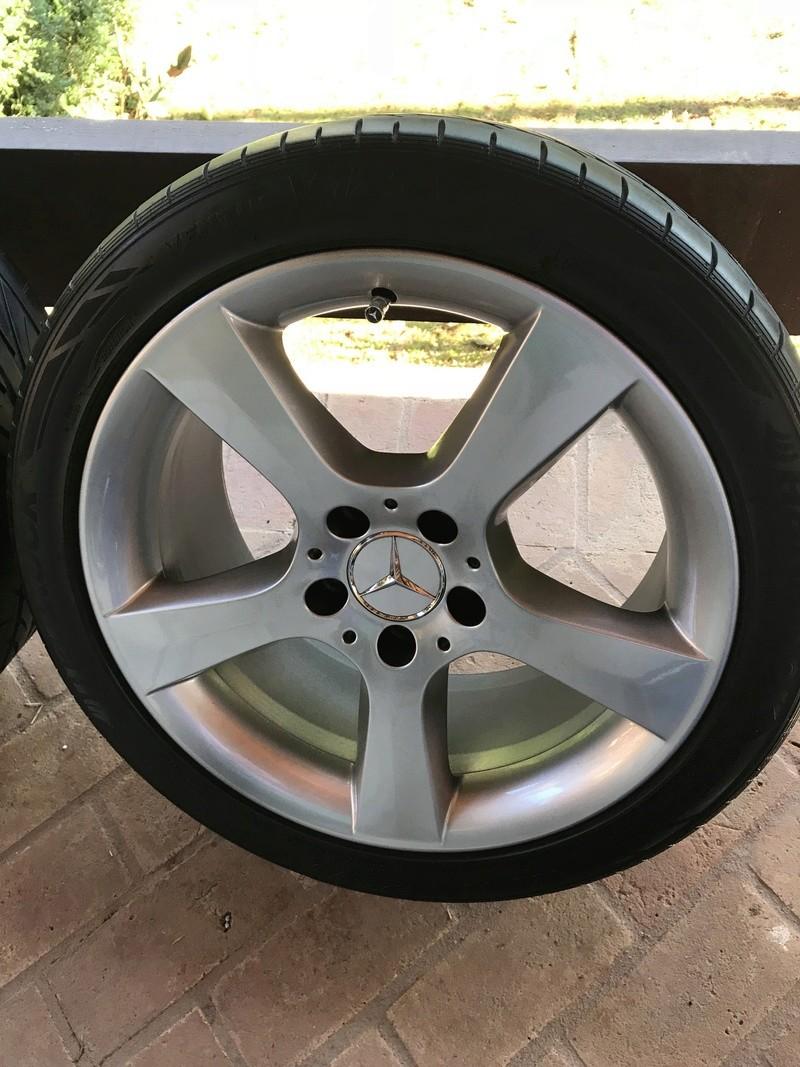 Vendo Jogo de 4 rodas originais Mercedes W203 C350 R$ 3.500,00 Img_2818