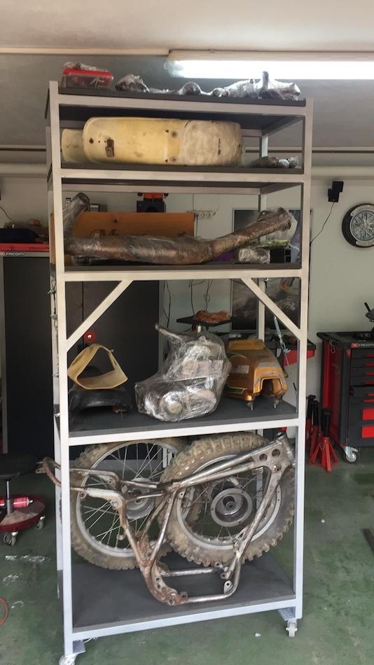 Restaurando mi Bultaco Frontera Gold Medal 370 0d67d513