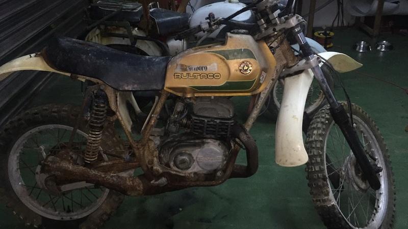 Restaurando mi Bultaco Frontera Gold Medal 370 93f40512