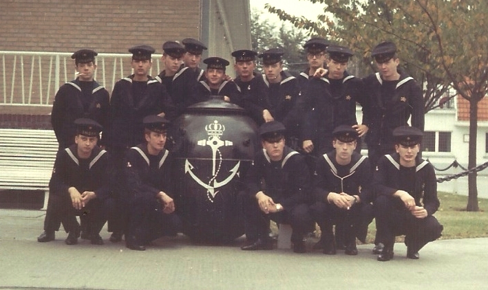 Sint-Kruis Août 1969 Marine10