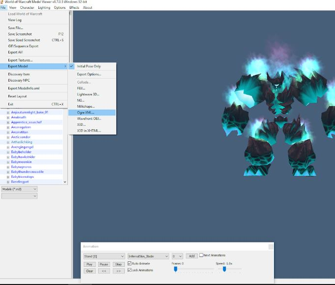 Someone please share -  Kito's fixed WoW model exporter to Ogre Test10