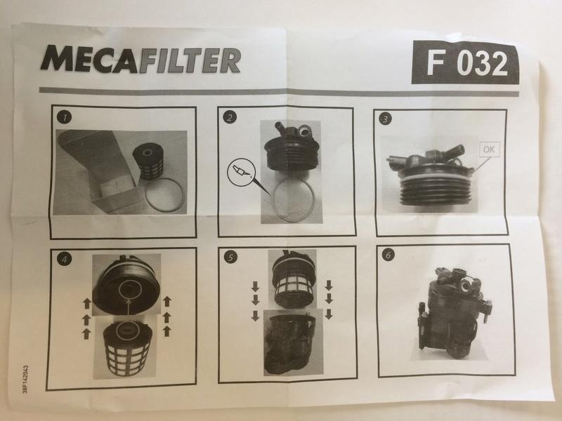 [ Peugeot 5008 1.6 bluehdi 120 an 2015 ] Changement filtre à gasoil (résolu) Img_7411