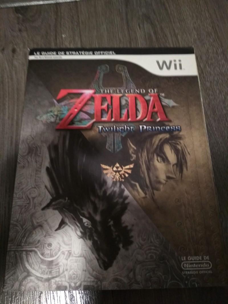 [Vds] Guide Zelda Twilight Princess et Micro Gamecube 20190611