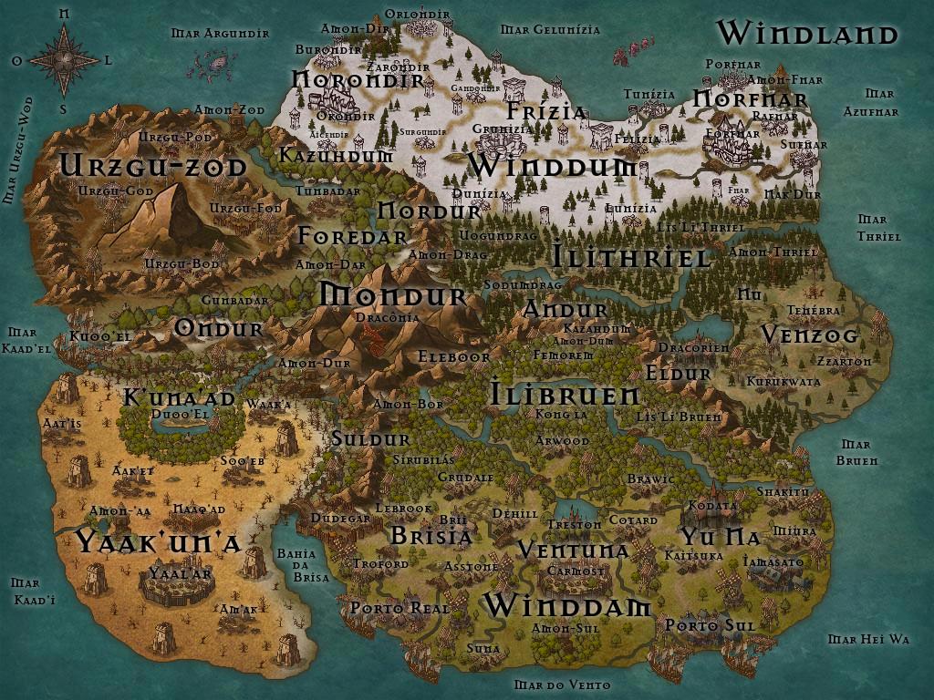 A Terra do Vento, Welcome to Windla10