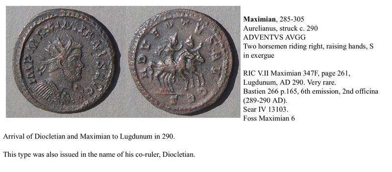 Aureliani de Lyon de Dioclétien et de ses corégents - Page 11 B273d210