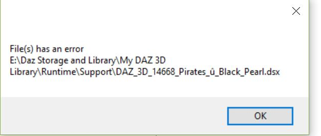 Does Not Work For ME Daz110