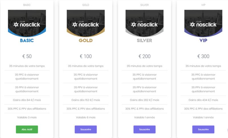 Voulez vous gagner 14€/ jour soit 434€/mois rien qu'en cliquant sur différentes grandes marques connues Noscli12