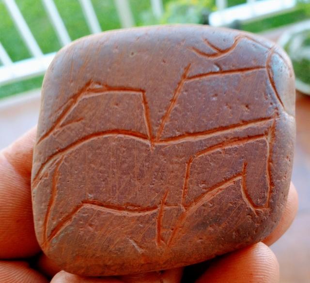 Réplicas en piedra.gravetienses y magdalenienses 20170410