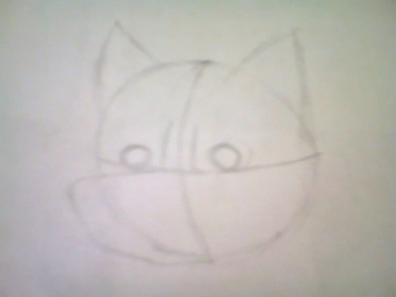Como dibujar la cabeza de un lobo furry Foto1111