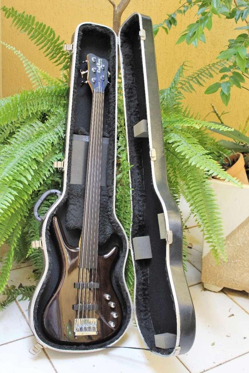 Rockbass By Warwick Corvette Fretless 5 Cordas - R$ 1.800 Img-2013