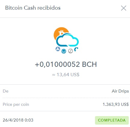 [NoRefback]  AIRDRIPS - FAUCET BCH - Refback 80% - Rec. pago  25 - Página 10 Pago_a10
