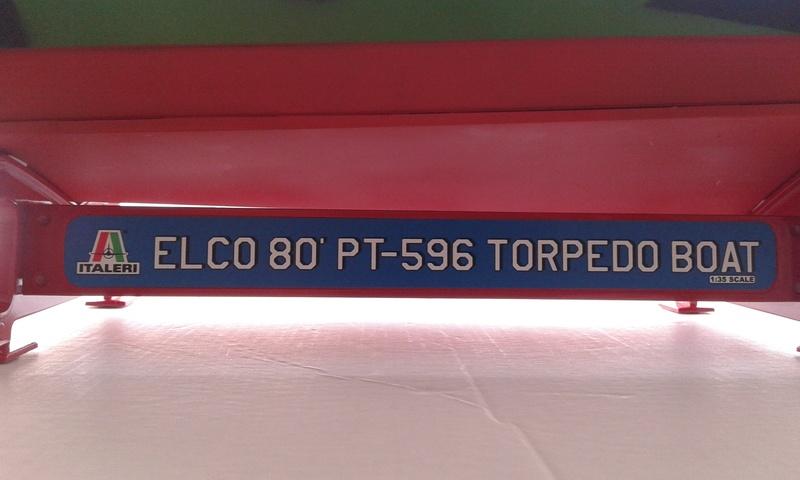 Italeri 1/35 Elco 80' PT boat 20170445