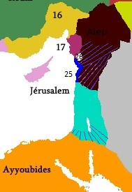 [1182 - ] Offensive Ayyoubide au Moyen-Orient  Chance10