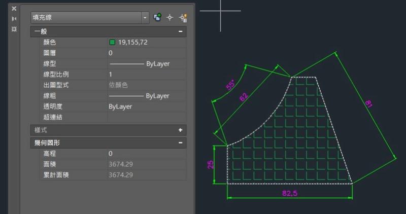 AutoCAD教學 幾何圖形習題04 O410
