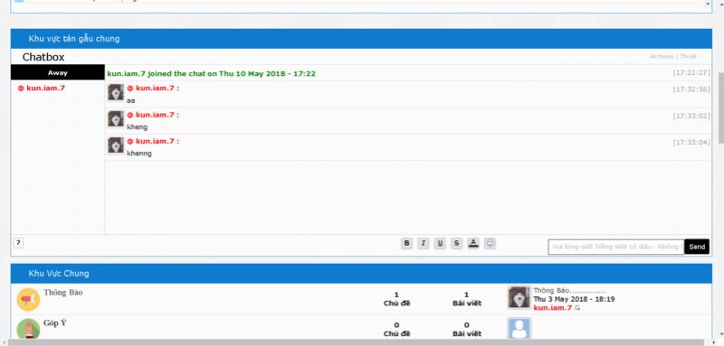 [Code] Chatbox mặc định được edit lại Chatbo10