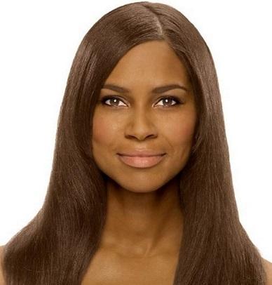 الوان الشعر التي تناسب البشرة السمراء 410