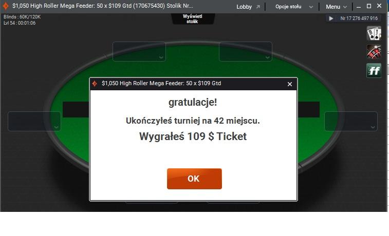 Screenshoty naszych wygranych - poker - Page 8 Ticket10