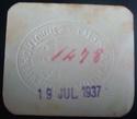 0,25 Pesetas La Pobla de Montornès Emisión Abril a Julio 1937 Dsc04411