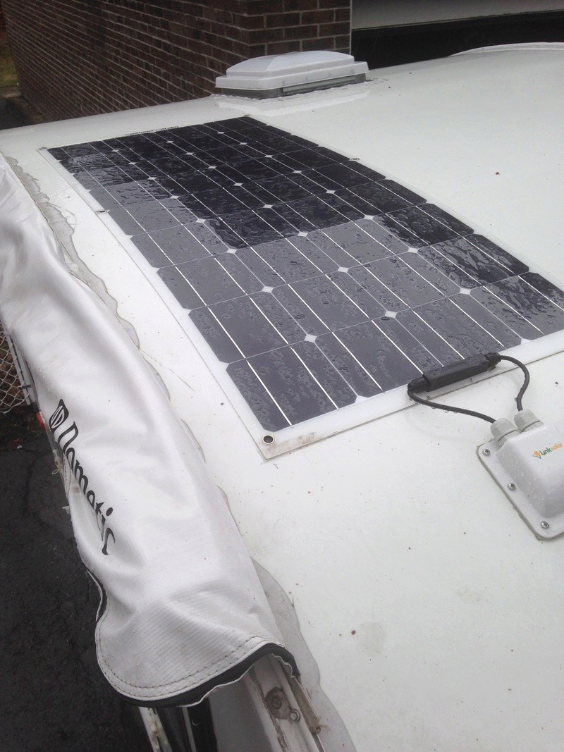 Installation de panneaux solaires flexibles sur une Prolite 2_pann11