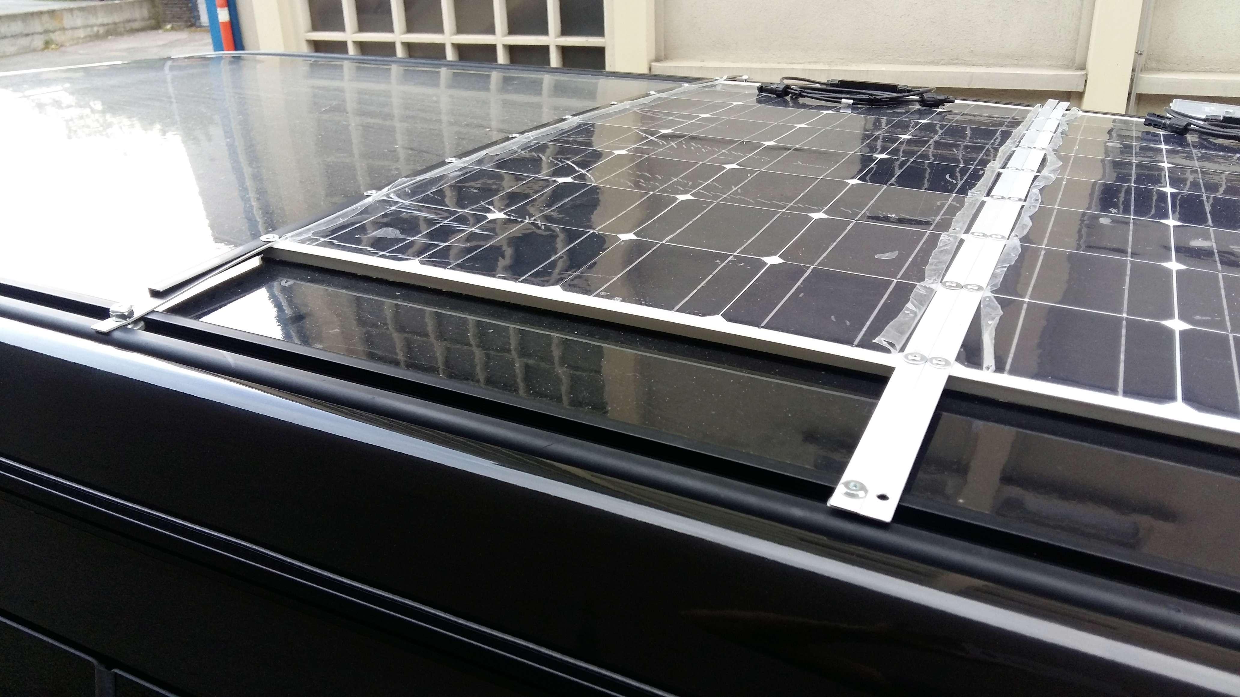 Panneaux solaires - c'est partiiiii 20180519