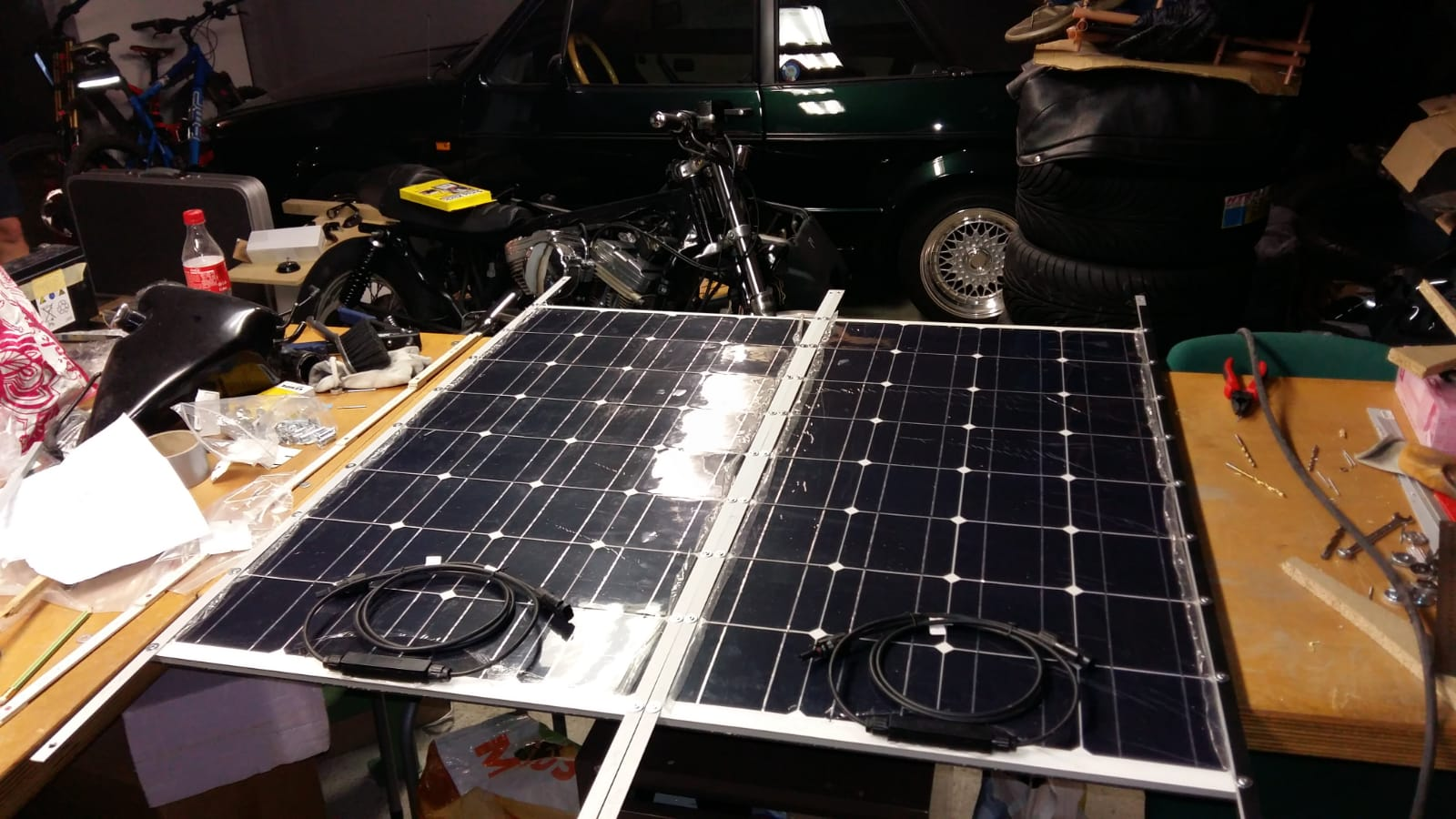 Panneaux solaires - c'est partiiiii Whatsa35