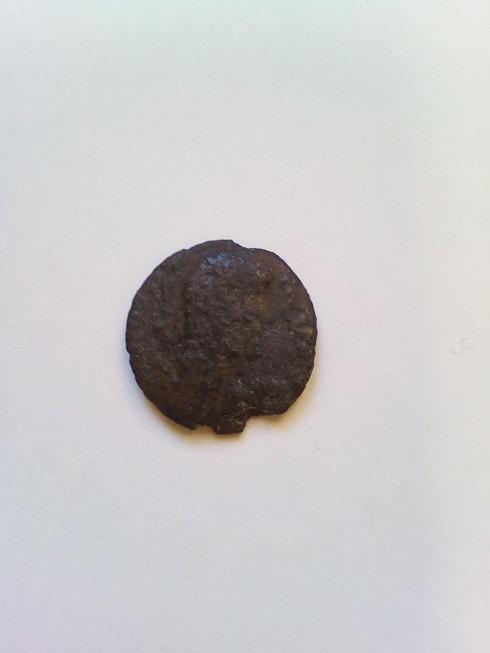 AE4 de Juliano II  como cesar tipo SPES REIPVBLICE. A-cons10
