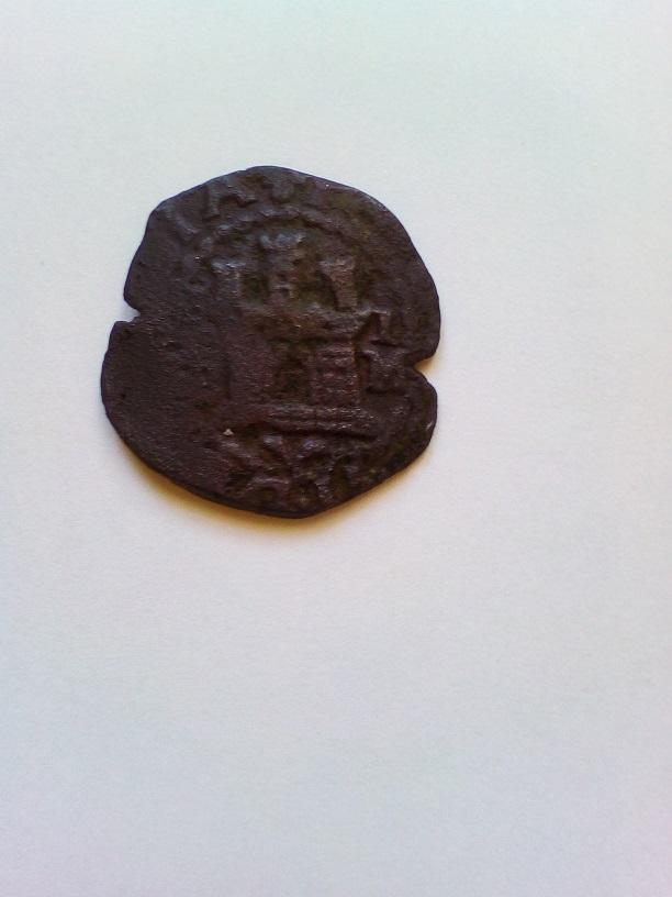 2 Maravedis Felipe II, Segovia. Anvers11