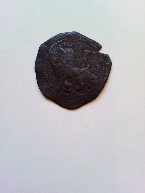 2 Maravedis Felipe II ceca de Cuenca R-leon10